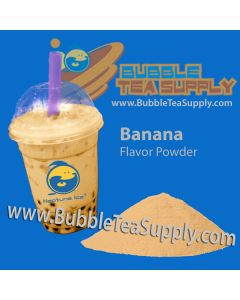 Banana Bubble Tea Powder