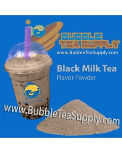 Black Milk Tea Bubble Tea Powder