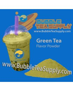 Green Tea Latte Bubble Tea Powder