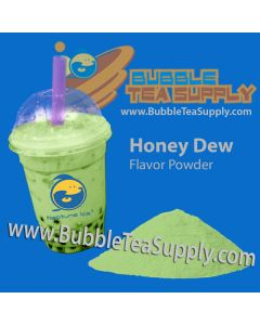 Honeydew Bubble Tea Powder
