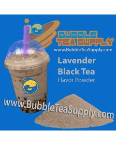 Lavender Black Tea Bubble Tea Powder