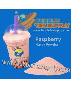 Raspberry Bubble Tea Powder