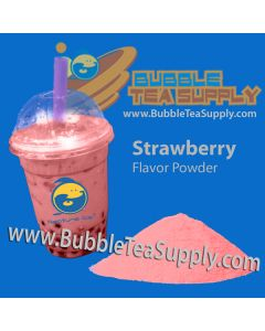 Strawberry Bubble Tea Powder